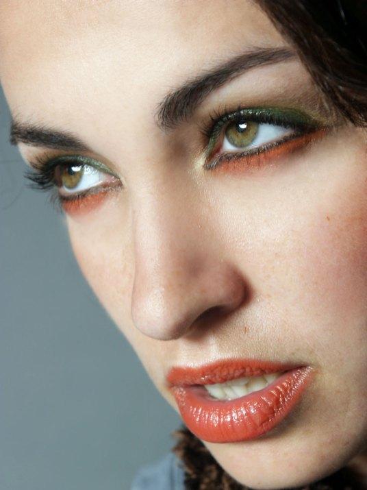 Romanian Girl Dramatic Moody MakeUp