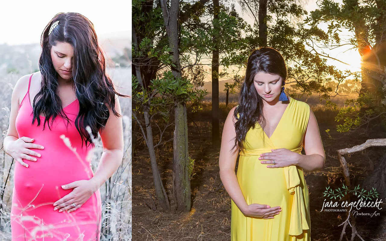 Suzaan Maternity Shoot MakeUp Feature
