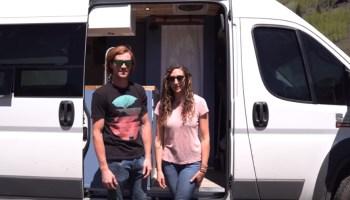 VAN LIFE TOUR | Couple+Dog Live Full Time in Custom DIY Off