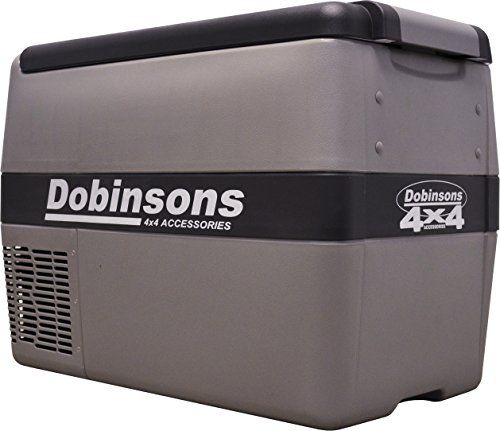 Dobinsons 4×4 40L 12V Portable Fridge Freezer, Includes Free