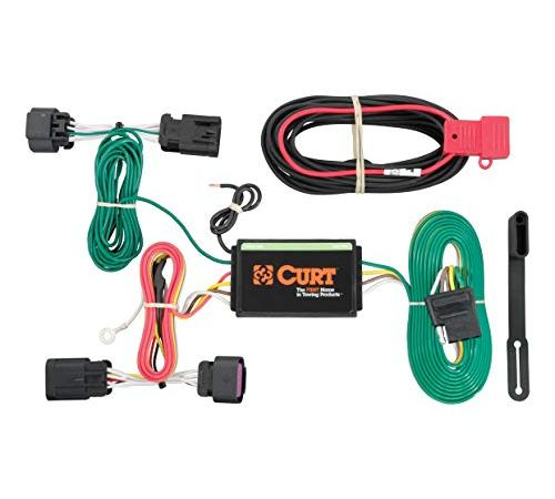 CURT 56209 Vehicle-Side Custom 4-Pin Trailer Wiring Harness ... on