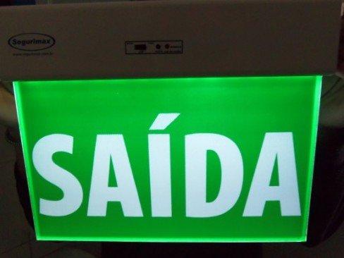 e5244384e19a4 SINALIZADOR SAIDA VERDE - Prometal EPIs - Equipamentos de Proteção ...