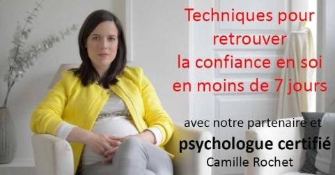 Camille Rochet - retrouver confiance en soi