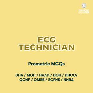 ECG Technician Prometric MCQs