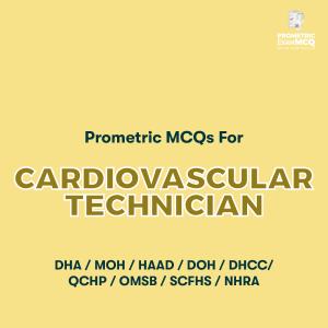 Prometric MCQs For Cardiovascular Technician