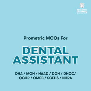 Prometric MCQs For Dental Assistant