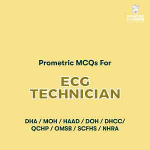 Prometric MCQs For ECG Technician
