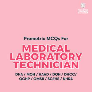Prometric MCQs For Medical Laboratory Technician