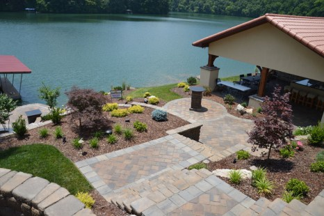 Landscaped Backyard and Patio