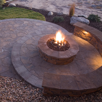 hardscapes can transform outdoor