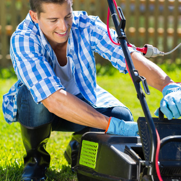 keep mower running smoothly