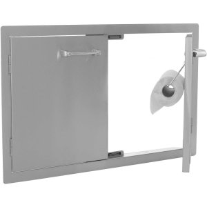 lion double door with paper towel-holder