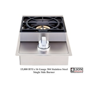 lion single side burner