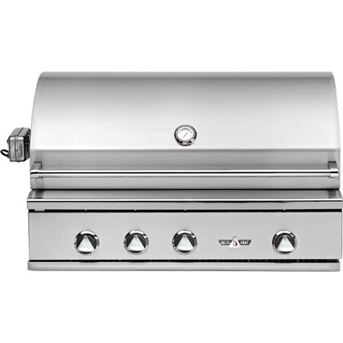 38 Quot Delta Heat Gas Grill With Infrared Rotisserie And Sear
