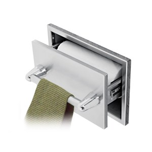 twin eagles paper towel drawer with towel bar