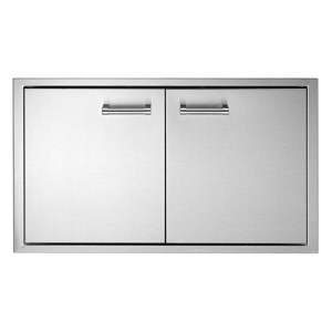 delta heat double access door