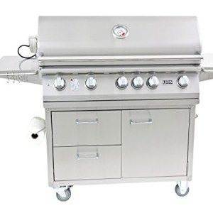 lion grill cart