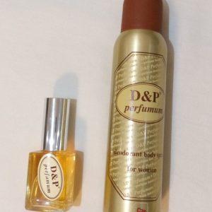 Parfum D&P Original femme + Déodorant offert