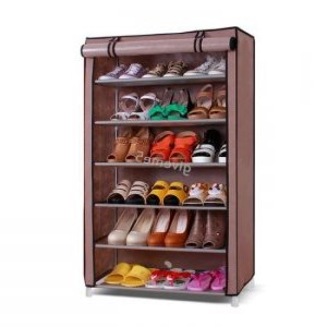 Meuble de rangement chaussure avec 6 étagères