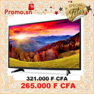 Télévision LG LED 43 pouces (108 cm) Full HD