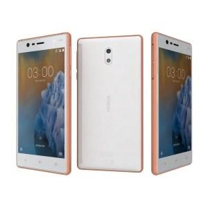 Nokia 3 Dual Sim Ecran 5 Pouces Mémoire 16 Go  Ram 2Go Connexion 4G LTE