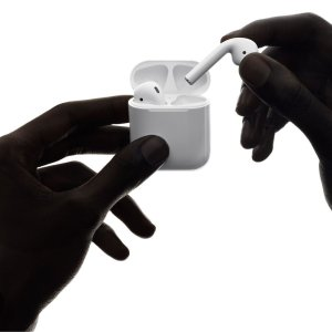 Apple AirPods écouteurs sans fil (Bluetooth, Lightning) Original
