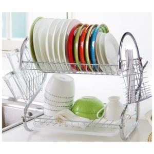Egouttoir vaisselle en inox