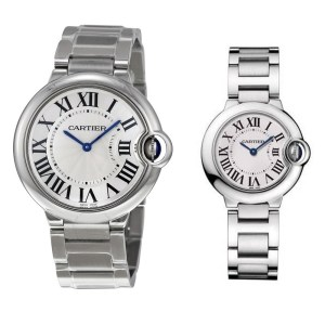 Montre Cartier Homme + montre Cartier femme offerte