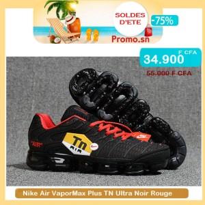Nike Air VaporMax Plus TN Ultra Noir Rouge Authentique