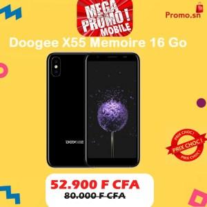 Doogee X55 Memoire 16 Go Original Dual Sim 4G Ecran 5.5 pouces Empreinte digitale