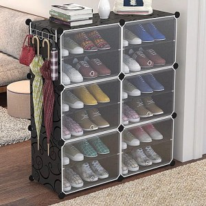 Meuble à Chaussures Modulable 6 Cubes DIY