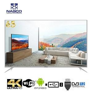 "Télévision Nasco Smart TV 65"" pouces incurvée 4K Ultra HD Curved"