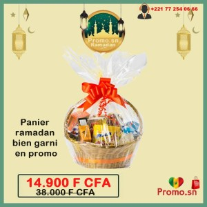 Panier ramadan bien garni en promo