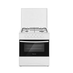 Cuisinière 4 feux Ferre dimension 50x50 Blanc