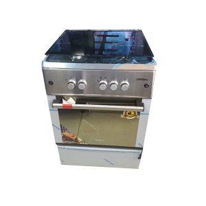 Cuisinière 4 feux Tecnolux dimension 60x60 Inox