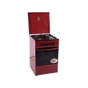 Cuisinière 4 feux Ferre dimension 50x50 Rouge