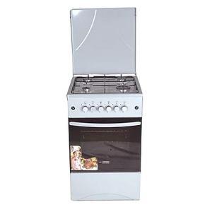 Cuisinière 4 feux GL-GENERAL Blanc dimension 60x60
