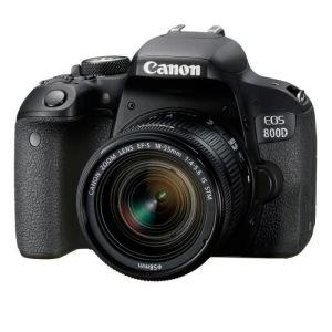Appareil Photo Numérique Canon EOS 800D Professionnel Wi-Fi, NFC et Bluetooth®