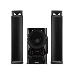 Home cinéma Philips Puissance 60 W Tuner FM Bluetooth 2.1 Woofer