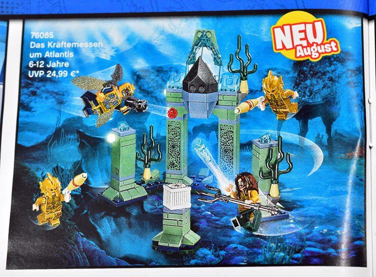 Justice League Lego Sets Of Atlantis The Knightcrawler And Flying