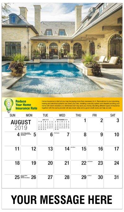 Financial Planning Tips Promo Calendar   65¢ Promotional ...