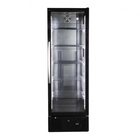 refrigerateur de bar vitre noir 1 porte europrojet promocold