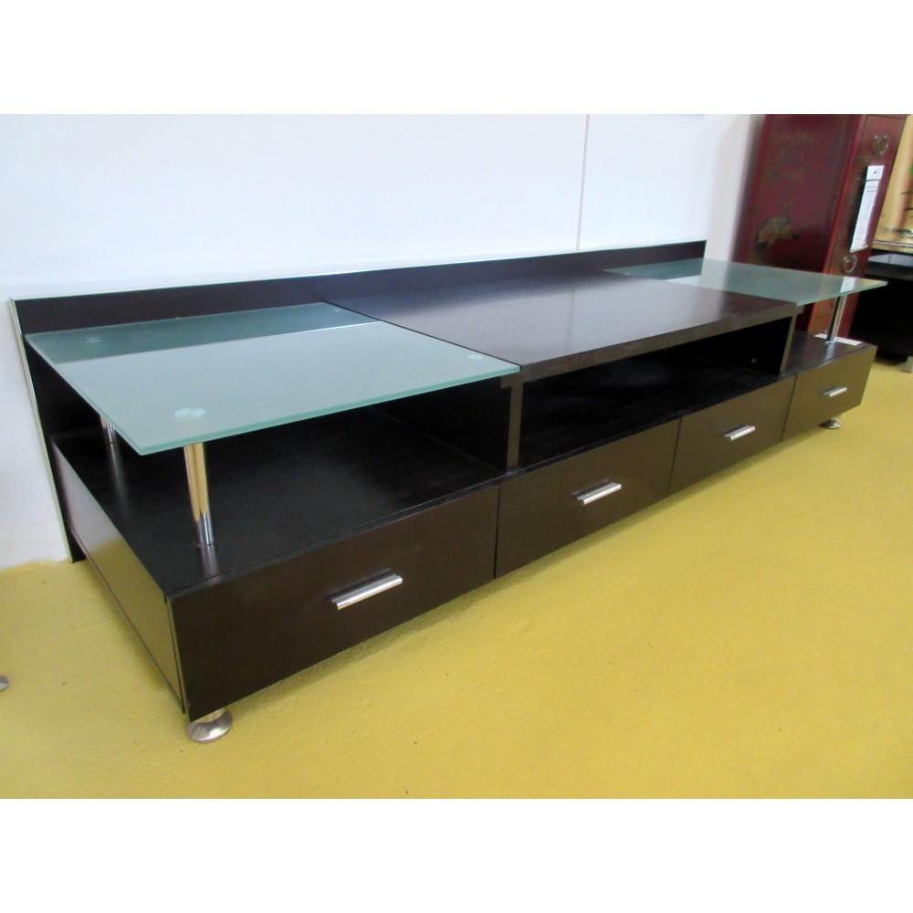 meuble tele wenge magasin du meuble asiatique et chinois