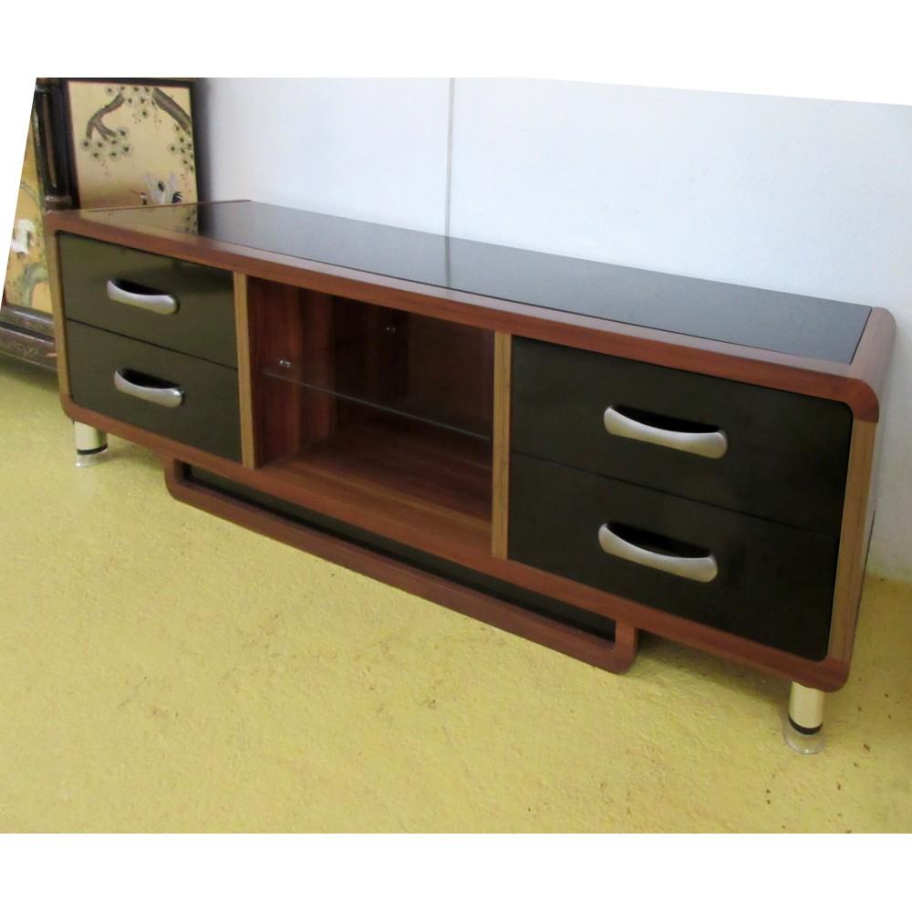 meuble tv verre et bois magasin du meuble asiatique et chinois