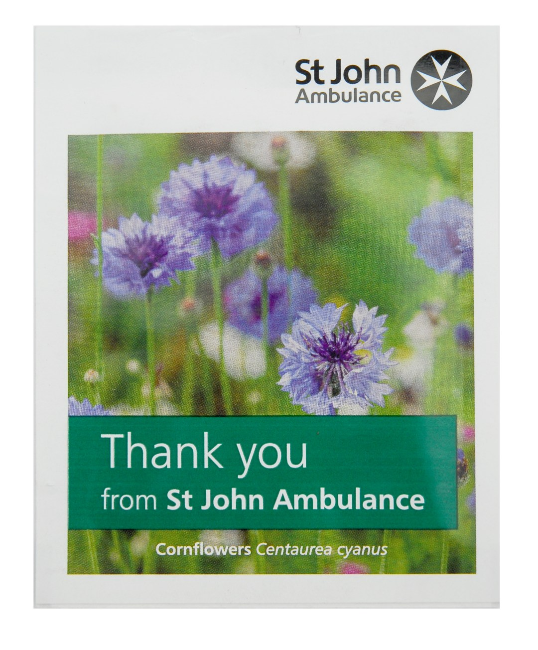 St John's Ambulance Bespoke Foil