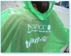 nspcc rain ponchos print