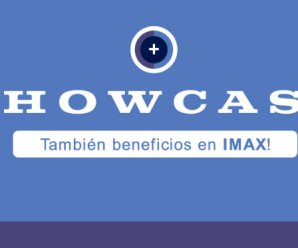 2X1 en cines Showcase (incluye IMAX)
