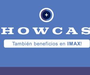 2X1 en cines Showcase (incluye IMAX)
