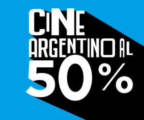 Películas argentinas con 50% de descuento