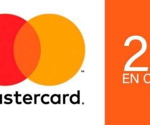 50% de descuento en cines con Mastercard Contactless